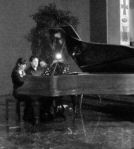 Duo Joia - Piano Four Hands - Silvia Cattaneo & Jonas De Geyndt