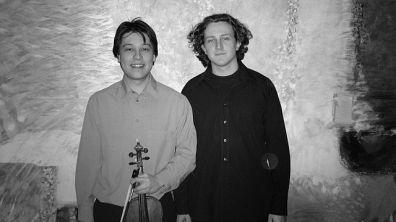 Mark Derudder, violine & Jonas De Geyndt, piano