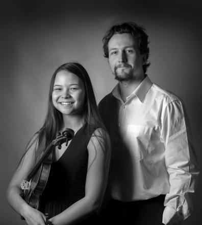 Duo, Mona Verhas, violine & Jonas De Geyndt, piano