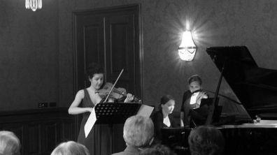 Sarah Christian, Violine, violine & Jonas De Geyndt, Klavier, piano