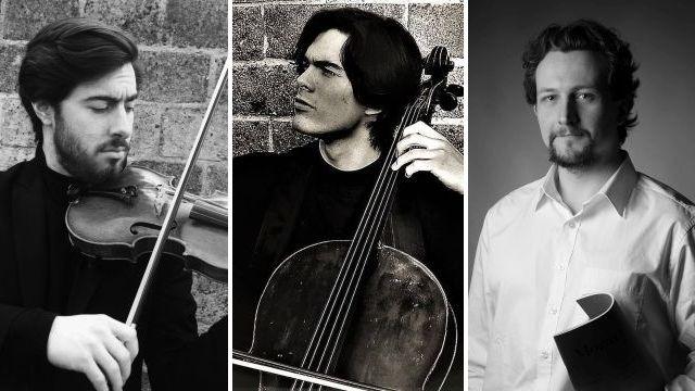 Cesar Nikolai Laporev, viool – Pablo Laporev, cello – Jonas De Geyndt, piano